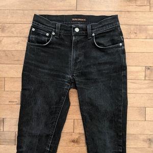 Nudie Jeans Men's Thin Finn Slim Fit Jeans